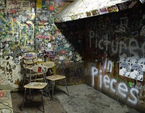 CBGB: Decades of Graffiti #1