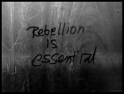 Rebellion Is Essential